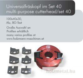 UNISET40 profilmaró