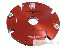 VN160-2 Állítható horonymaró Ø160/14-28mm